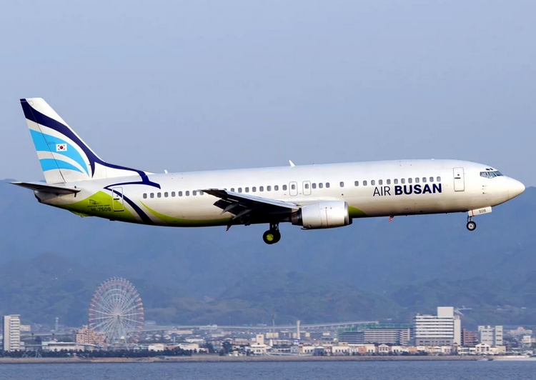 самолет Air Busan